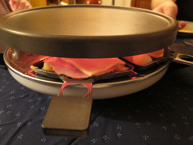 Vegetarisches Raclette